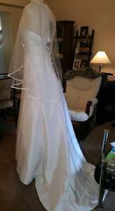 Stunning brand new corset wedding dress. Priced to sell!