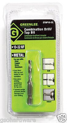 Greenlee Combination Drill/Tap Bit 1032 NC