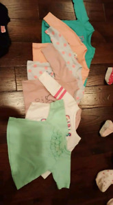 6-9 months & 9 months girls clothing