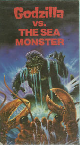 vhs Godzilla vs The sea Monster used vhs in good condition +++++
