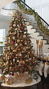7 1/2 FOOT ARTIFICIAL CHRISTMAS TREE w/LIGHTS (NEW)(Paid $$400)