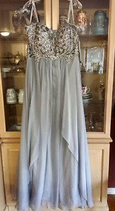 Size 16-20 prom dress with corset back