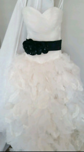 Wedding dress.  Size 10