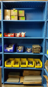 "USED 36""W CLOSED SHELVING UNITS"