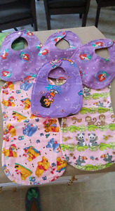 Bibs and burp clothes