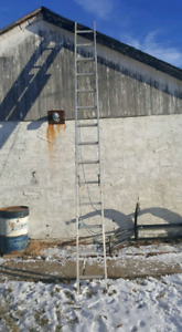 25 ft extention ladder.