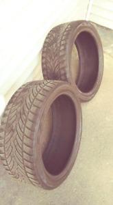 2 pneu hiver 225/40R18