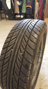 Four 185/65R14 all season tires