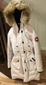 Canada Goose White Jacket
