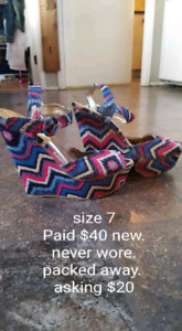 Shoes new size 7. Sussex or rothesay pick up
