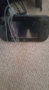 Wii u with 3 controllers and 2 games