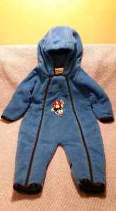 Baby Boy Bunting Suit CarSeat Safe Size 3/6mts,EUC