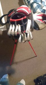 Set of right hand Nike golf clubs