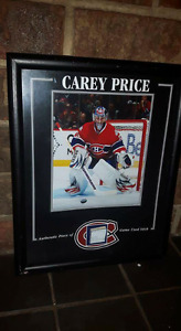 8 by 10 NHL Hockey pictures with coa