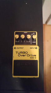 Boss OD-2 Turbo overdrive MIJ