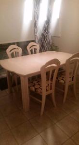 "Table de cuisne avec rallonge 40""×63"""