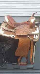 """15"""" Western Show Saddle"""