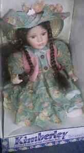Kimberley limited edition fine porcelain doll timeless treasures