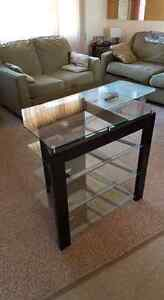 Glass T.V. Stand