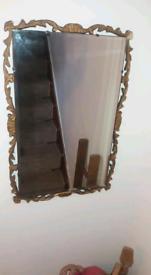 Rare Antique Reflectwell Ornate Mirror