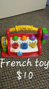 FRENCH TODDLER TOY