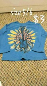 GUITAR LONG SLEEVE SIZE 5-6