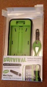 IPhone 5 Survival Case with Mini Stylus