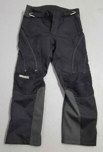 Pantalon de moto, Joe Rocket, noir, taille large.