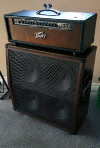 Peavey Ultra 112 guitar amp and cab