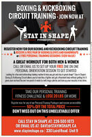 Grand Opening Announcement - Stay In Shape Fitness Studio