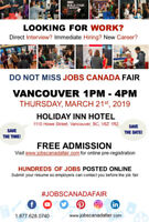 VANCOUVER JOB FAIR- MARCH 21ST, 2019