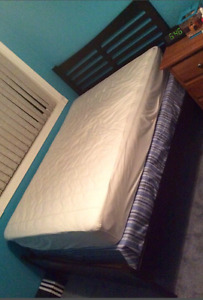Double bed and bed frame