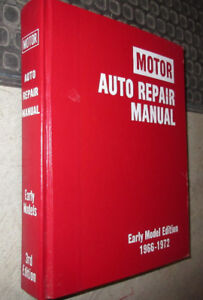 1966 to 1972 Motors Auto Repair Manual  Chev Dodge Ford others +