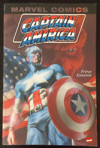 Captain America Vol.1 : Frères ennemis (Monster Edition, 282 p.)