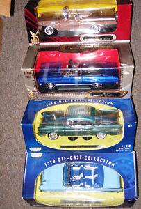 Diecast 1957 Mercury 57 Chevy Chevrolet Belair's 1966 Cyclone GT