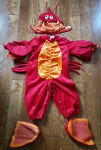 12-18 month lobster Halloween costume