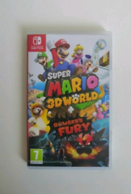 Super Mario 3D World plus bowsers Fury Nintendo Switch new and sealed