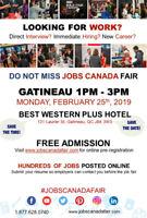 Gatineau Job Fair - February 25th 2019