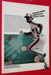 MONTREAL EXPOS TIM RAINES BASEBALL LEGEND 1981 POSTER - SPORTS