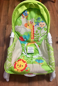 Fisher Price Rain Forest Infant to Toddler Portable Rocker