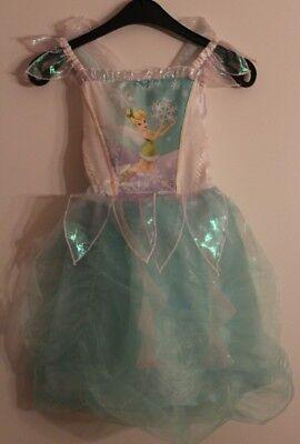 Original Disney Tinkerbell mit Flügel 110-116 Winter Karneval, (Tinkerbell Flügel)
