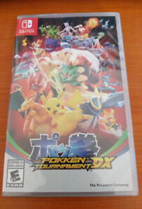 POKKEN TOURNAMENT DX NINTENDO SWITCH GAME SEALED NEW GAMES