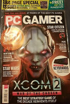 PC GAMER MAGAZINE ISSUE 308 September 2017  184 page Special plus free gift