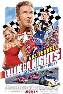 Talladega Nights: The Ballad of Ricky Bobby Style A1 Movie  Poster Print, 27x39
