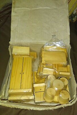 Dollhouse furniture, Unfinished Wood, Mini house furniture, tiny model furniture