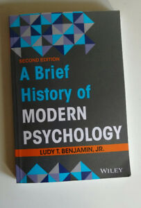 A Brief History of Modern Psychology 2nd Edition