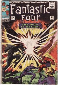 Fantastic Four #53 comic 2nd BLACK PANTHER! $55, OBO