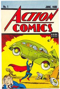 comic edition SUPERMAN 1938  reprint  40,