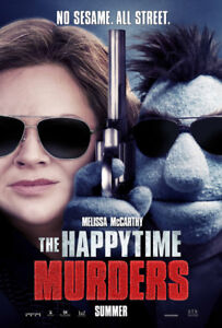 The Happy Time Murders original Movie Poster
