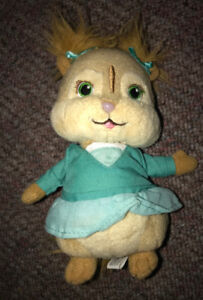 """Ty Beanie Babies Alvin and the Chipmunks 6"""" Eleanor Chipette"""